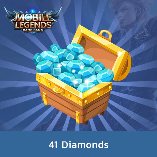 Mobile Legend 41 Diamonds
