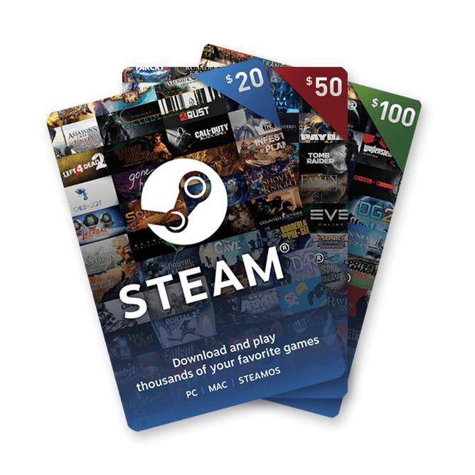 Steam Wallets
